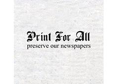 <i>Print For All</i>