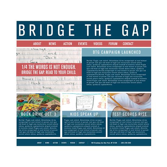 <i>Bridge the Gap</i>