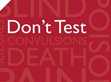 <i>Dont Test Humanity</i>