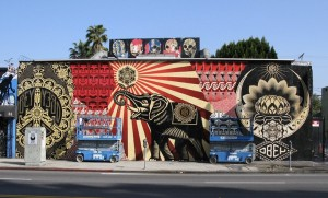 Shepherd Fairey – Photo from LA Times