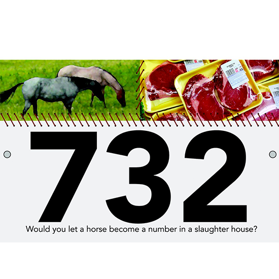 <i>Vote No on the Sale of Horse Meat<i>