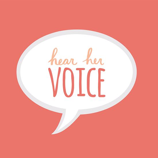 <i>Hear Her Voice</i>
