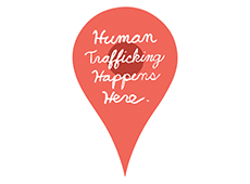 <i>Human Trafficking Happens Here</i>