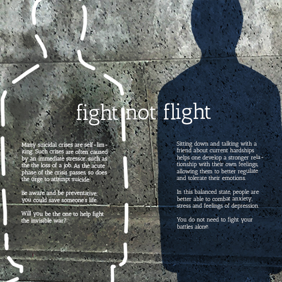 <i>Fight not Flight</i>