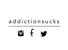 <i>Addiction Sucks</i>