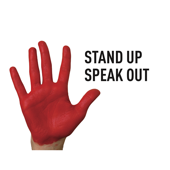 <i>Stand Up, Speak Out</i>