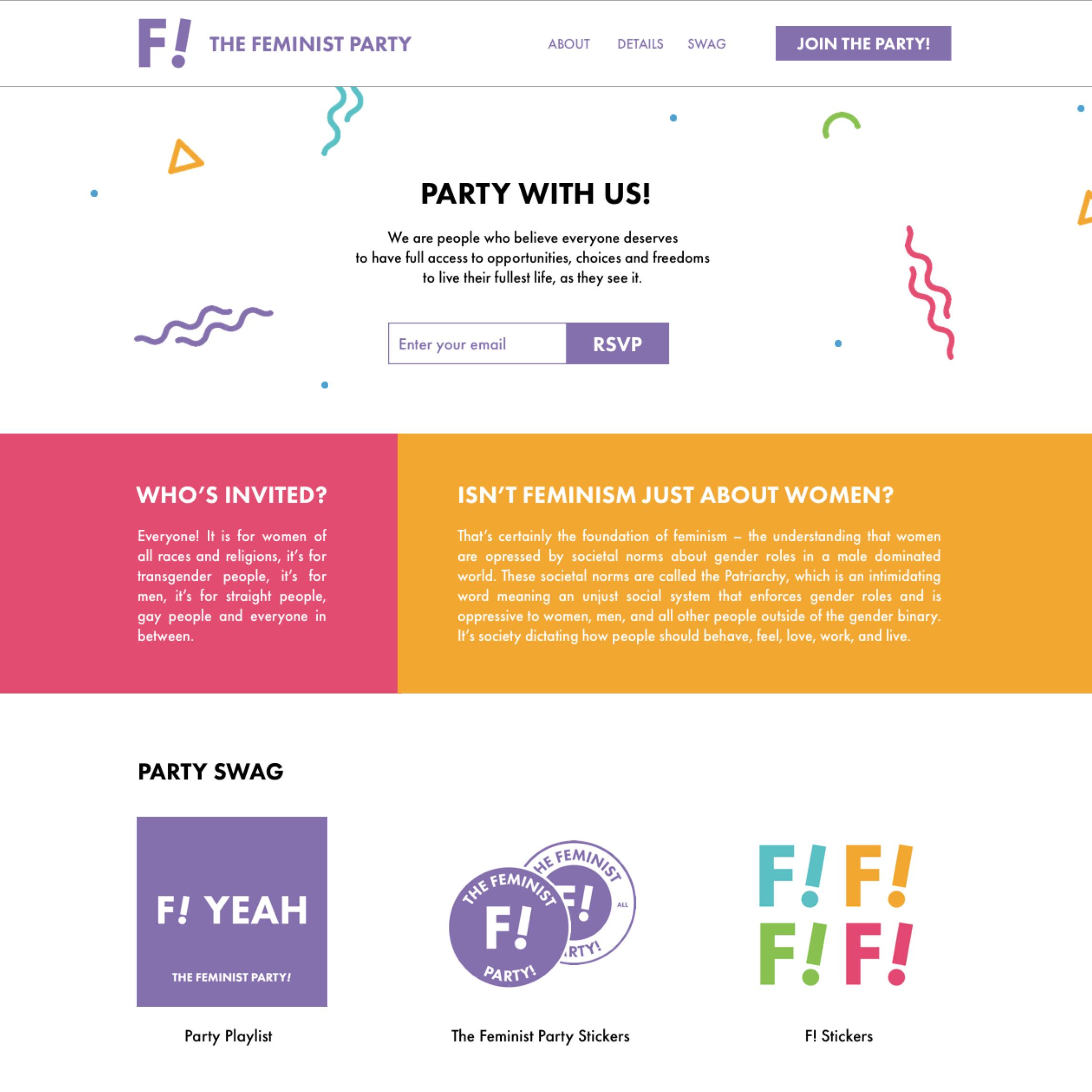 <i>Feminist Party</i>