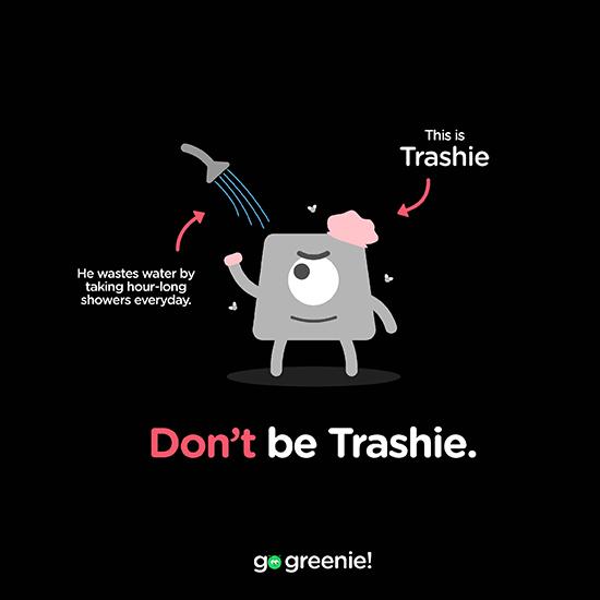 <i>Go Greenie!</i>