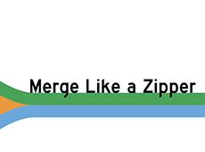 <i>Merge Like a Zipper</i>